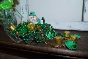 This fun leprechaun treasure bowl is the perfect accent to any home celebrating Irish heritage.