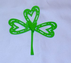 Fun 4 Part Shamrock How-To Assembly