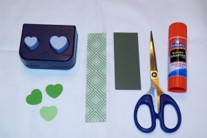 Quick, Simple Shamrock How-To Supplies