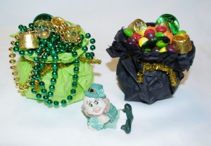 Inexpensive St. Patrick's Day Decor & Party Favors-As Party Favors