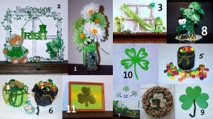 St. Patrick's Day DIY Collage