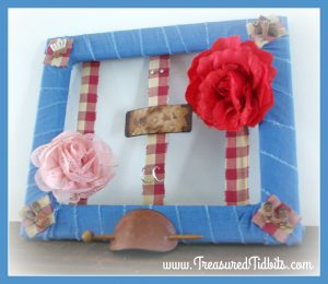 Hair Bow and Earring Organizer DIY
