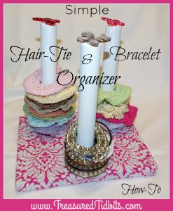 Hair Tie Bracelet Holder Fb