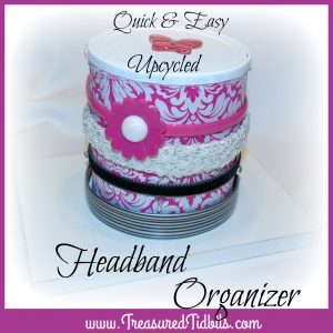 Hot Chocolate Headband Organizer How To
