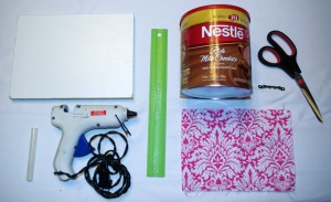 Hot Chocolate Headband Organizer How To Supplies