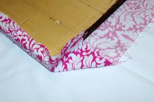 Simple DIY Hiar Tie & Bracelet Organizer Corner Tuck