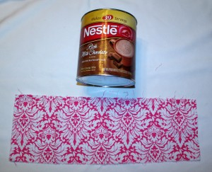 Hot Chocolate Holder Headband Organizer DIY Wrap the Can