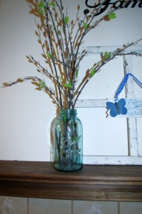 Simple Spring Decor For Any Space Mason Jar