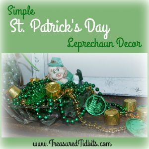 St Patrick's Day Leprechaun and Pot of Gold DIY