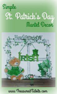 St Pat's Mantel Pinterest