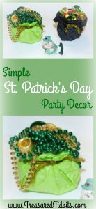 Inexpensive St. Patrick's Day Decor & Party Favors
