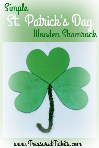 Simple Wooden Shamrock How-To