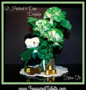 St. Paddy's Day Bear Display How-To