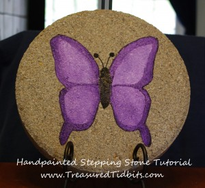 How to Make a Handpainted Stepping Stone