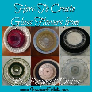 How to Create Glass Flowers From Repurposed Dishes FB Sq