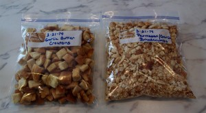 Croutons and Crumbs Ready to Go