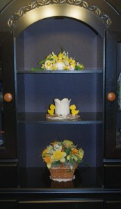 Yellow Daffodil Easter Buffet