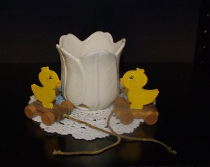 Pull String Ducks Just in Time For Easter