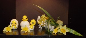 Bring in Spring Foam Demo Easter Hatchling How TO