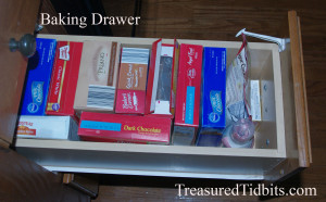 Kitchen Baking Drawer