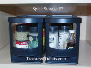 Spice Storage #2 Small Space Kitchen