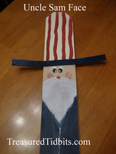 Handpainted Uncle Sam Picket How-To