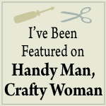 Handyman Craftywoman feature button