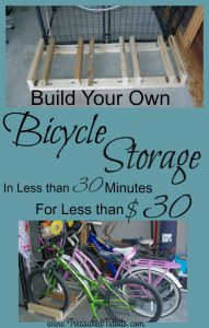 30 Minute Bicycle Storage In Under 30 Minutes Black