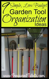 9 Simple, low-Budget Lawn & Garden Tool Organization Ideas