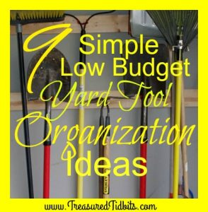 9 imple, Low Budget Lawn & Garden Tool Organization Ideas