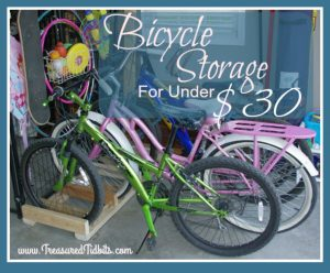DIY Bicycle Storage In Less Than 30 Minutes For Under $30