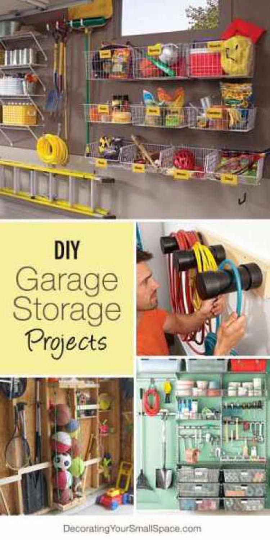 Treasured Tidbits By Tina Diy Garage Storage Ideas