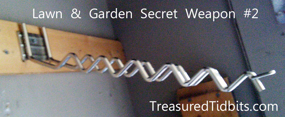 Lawn & Garden Tool Organization Secret Weapon #2