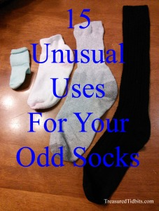 15 Unusual Uses For Your Odd Socks