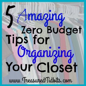 5 Amazing Zero Budget Tips for Organizing Your Closet Facebook