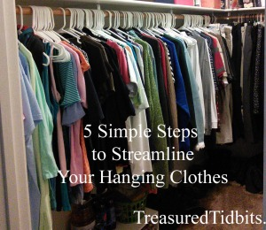 5 Simple Steps to Streamline Your Hanging Clothes