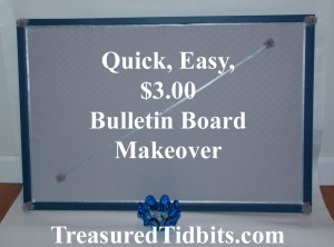Bulletin Board Makeover Pinterest Photo