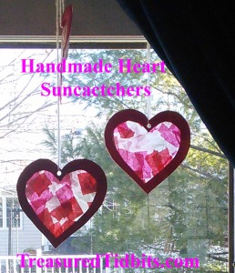 Handmade Heart Suncacthcers