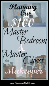 Master Bedroom and Closet Makeover For $100 or less PIN