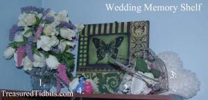 wedding memory shelf
