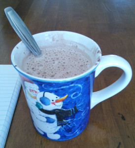 Hot Chocolate in a mug