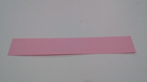 Paper Strip for Easy Heart Project
