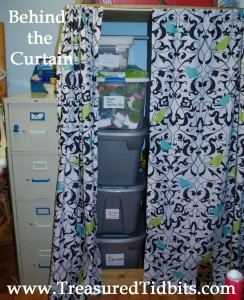 Craft Room Reveal Behind the Curtain