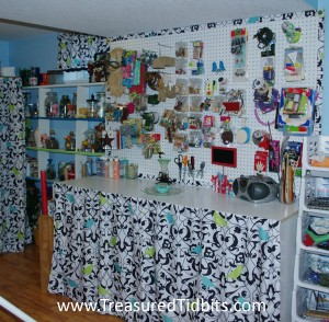 Finished Craft Room Reveal Final Wall
