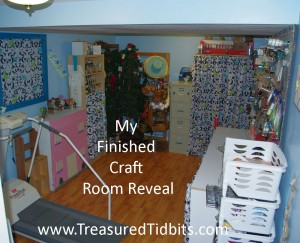 Finshed Craft Room Reveal