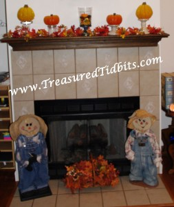 FIreplace Fall Decor 8 Week Series Week 2