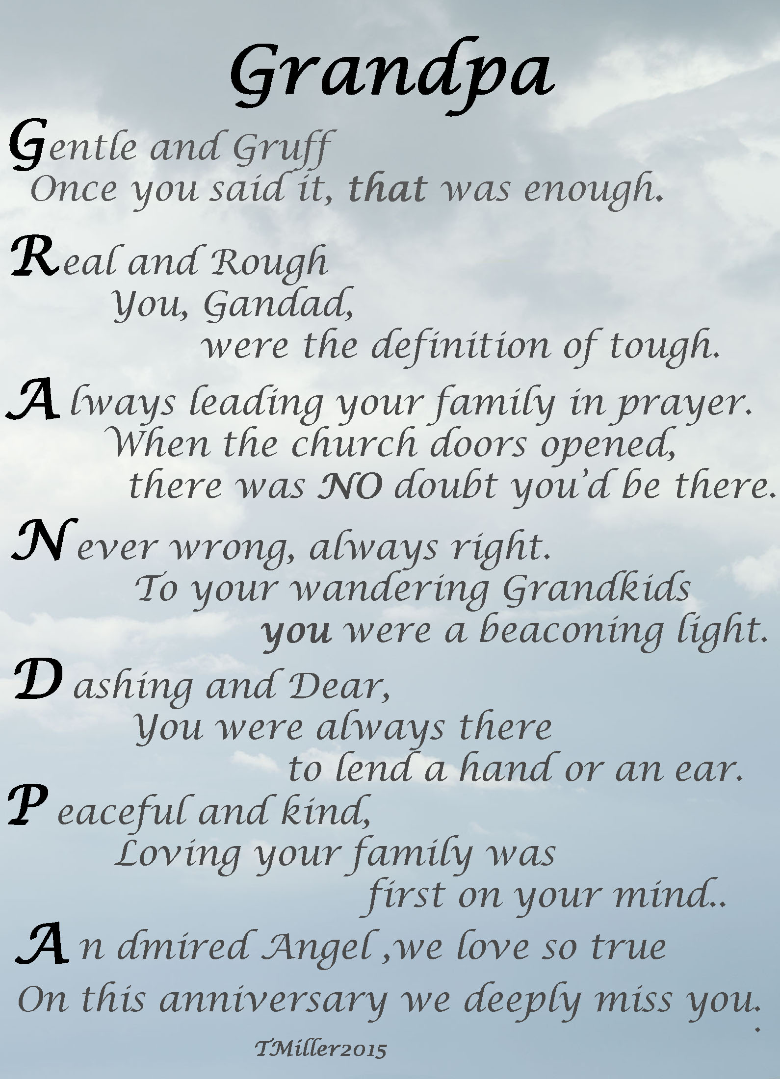 i love you grandpa poems - photo #6