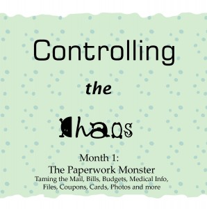 Controlling the Chaos Month 1 The Paperwork Monster