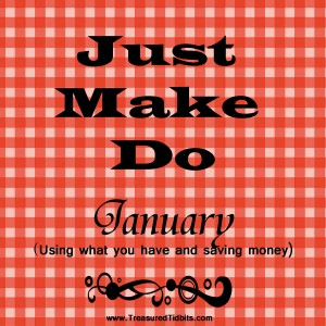 Just Make Do January Button