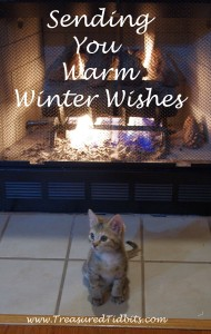 Warm Winter Wishes with Kitten 2015